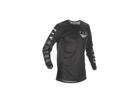 dres KINETIC K121 2021, FLY RACING - USA (černá/bílá)