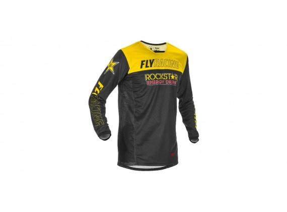 dres KINETIC ROCKSTAR 2021, FLY RACING - USA (žlutá/černá)