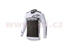 dres RACER SUPERMATIC 2021, ALPINESTARS (světle šedá/černá)