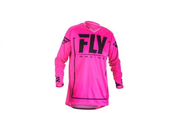 dres LITE 2018, FLY RACING - USA (růžová/černá)
