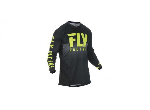 dres LITE 2019, FLY RACING (černá/žlutá fluo)