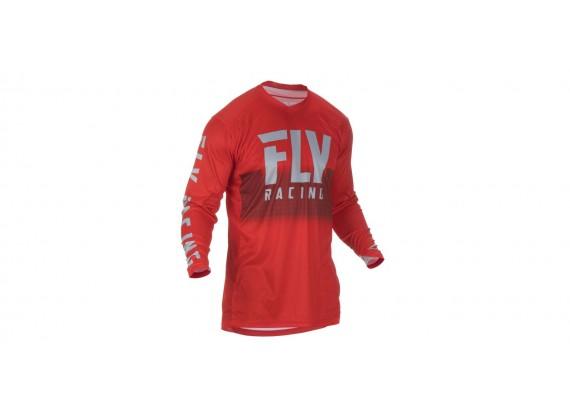 dres LITE 2019, FLY RACING (červená/šedá)