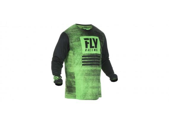 dres Kinetic NOIZ 2019, FLY RACING (neonová zelená/černá)
