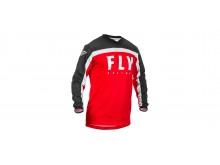 dres F-16 2020, FLY RACING (červená/černá/bílá)