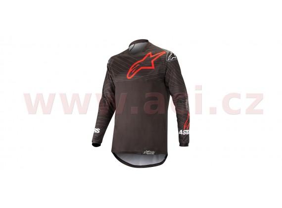 dres VENTURE R 2021, ALPINESTARS (černá/červená)