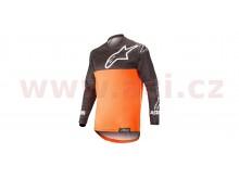 dres VENTURE R 2021, ALPINESTARS (oranžová fluo/černá)
