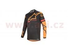 dres RACER TECH COMPASS 2020, ALPINESTARS (černá/oranžová)