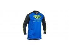 dres LITE 2020, FLY RACING (modrá/černá/hi-vis)
