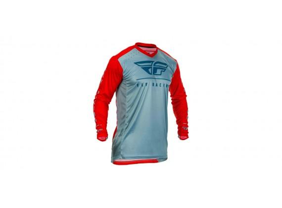 dres LITE 2020, FLY RACING (červená/modrá)