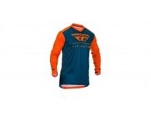 dres LITE 2020, FLY RACING (oranžová/modrá)