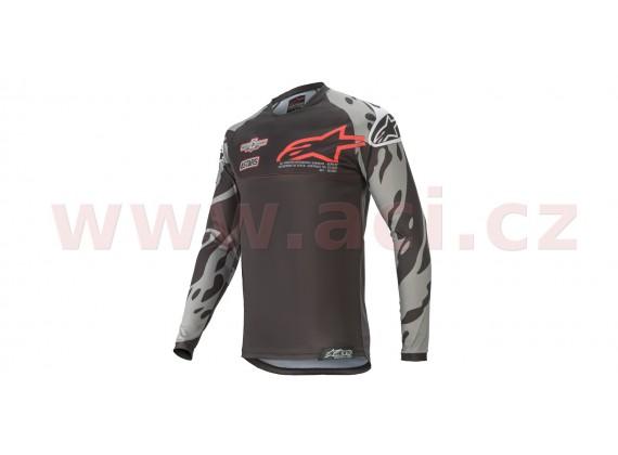 dres RACER TECH 2020 limitovaná edice SX SAN DIEGO, ALPINESTARS (černá/šedá/červená)