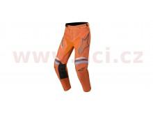 kalhoty RACER BRAAP 2020, ALPINESTARS (tmavá šedá/oranžová fluo)