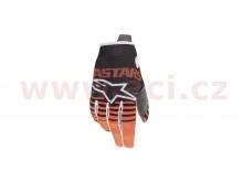 rukavice RADAR 2020, ALPINESTARS, dětské (antracit/oranžová fluo)