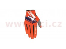 rukavice NEO 2020, ALPINESTARS (oranžová fluo/tmavá modrá)