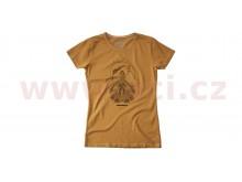 triko FLAG LADY krátký rukáv, SPIDI, dámské (khaki)