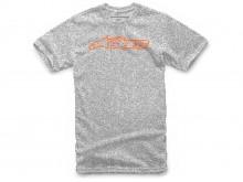 triko BLAZE CLASSIC TEE krátký rukáv, ALPINESTARS (šedá/oranžová)