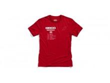 triko OUTLIER, 100% (červená)