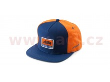 kšiltovka REPLICA TEAM KTM, (modrá/oranžová)
