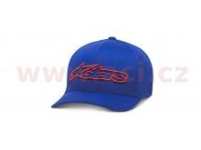 kšiltovka BLAZE FLEXFIT HAT, ALPINESTARS (modrá/červená)