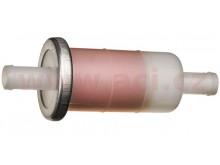 palivový filtr s papírovou vložkou, Q-TECH (pro vnitřní průměr hadice 10 mm)