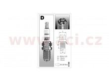 zapalovací svíčka DR14BSXC řada Premium EVO , BRISK - Česká Republika