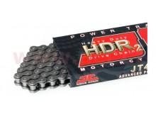 řetěz 420HDR2, JT CHAINS (bezkroužek, barva černá, 86 článků vč. rozpojovací spojky)