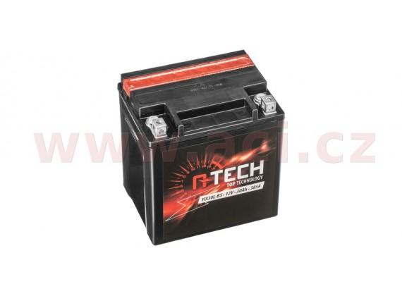 baterie 12V, FIX30 l-BS, 31,5Ah, 385A, bezúdržbová MF AGM 166x126x175, A-TECH (vč. balení