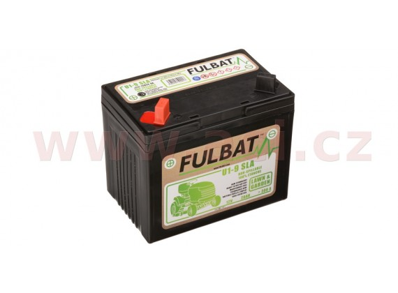 baterie 12V, U1-9 SLA, 28Ah, 300A, levá, bezúdržbová MF AGM, 195x125x176, FULBAT (aktivova