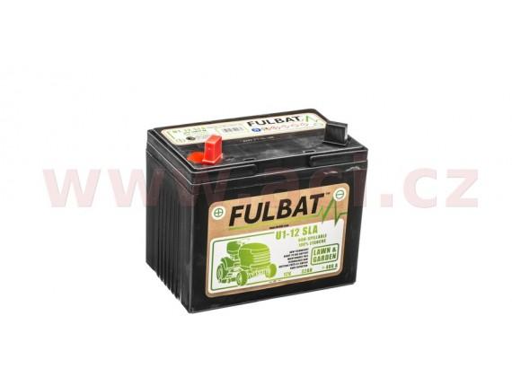 baterie 12V, U1-12 SLA 32Ah, 400A, levá, bezúdržbová MF AGM, 195x125x176, FULBAT (aktivova