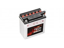 baterie 12V, YB9 L-B, 9Ah, 130A, konvenční 135x75x139 A-TECH (vč. balení elektrolytu)