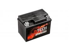 baterie 12V, YTZ5S, 4Ah, 70A, bezúdržbová MF AGM 113x70x85, A-TECH (aktivovaná ve výrobě)