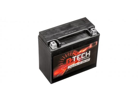 baterie 12V, YTX20L-BS, 18Ah, 270A, bezúdržbová GEL 175x87x155, A-TECH (aktivovaná ve výro