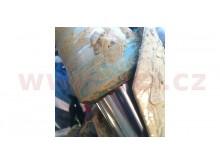 pojistné prachovky do bláta (pro přední vidlice Showa 47 mm), SKF (sada 2 ks vč. závlaček)