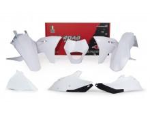 sada plastů Gas Gas, RTECH (bílá, 6 dílů vč. přední masky)