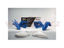 sada plastů Husaberg, RTECH (modro-bílé, 4 díly)