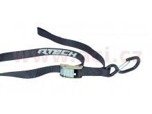 upínací popruhy s rychloupínací spojkou (šířka 25 mm / délka 2 m / nosnost 450 kg), RTECH