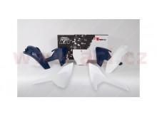 sada plastů Husqvarna, RTECH (bílo-modrá, 5 dílů)