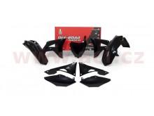sada plastů Honda, RTECH (černá, 6 dílů, vč. krytů vzduch filtru)