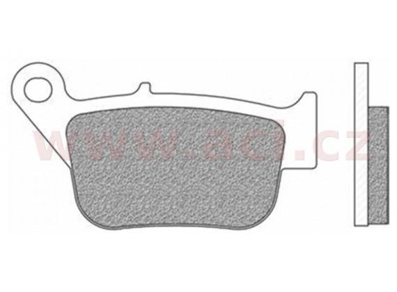 brzdové destičky, NEWFREN (směs SCOOTER ACTIVE ORGANIC) 2 ks v balení
