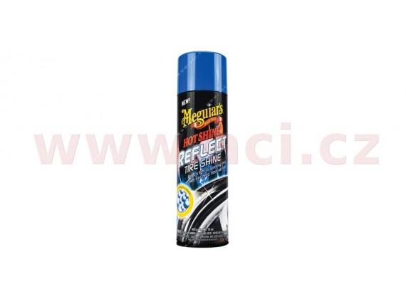 MEGUIARS Hot Shine Reflect Tire Shine - přípravek pro unikátní třpytivý lesk pneumatik 425