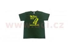 Tričko Millers Oils Brighouse zelené XL
