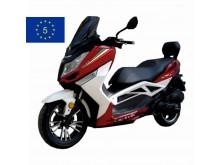 New Maximus -125 ccm - červená/bílá - EURO 5