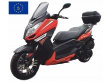 New Maximus -125 ccm - oranžová/černá- EURO 5