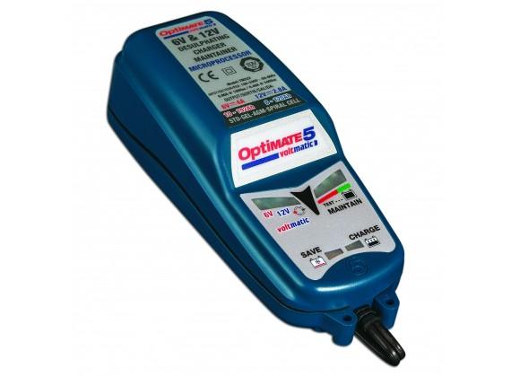 Nabíječka baterií OptiMate 5 Voltmatic 6/12V