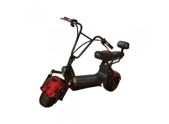 Elektrokoloběžka Capirelli URBANO mini - červená/černá