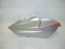 Pravý zadní postranní kryt - stříbrný