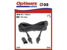 Doplnky OPTIMATE Prodlužovací kabel 1,8m, 5A max.