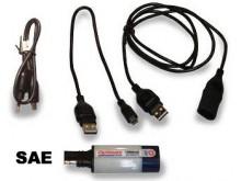 Doplnky OPTIMATE Univerzální USB nabíječka s USB adaptéry 1000mA