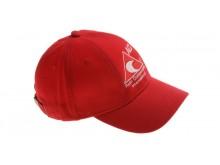 Čepice s kšiltem - baseball červená ACI