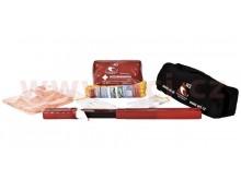 Povinná výbava CZ - lékárnička, trojúhelník, lano (1,9 t), vesta, rukavice ČERNÁ BRAŠNA